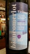 Biancomerlot DOC, vinařství Mondo, obec Sementina, kanton Ticino
