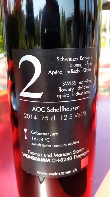 Číslované lahve vinařství Weintstamm (3)
