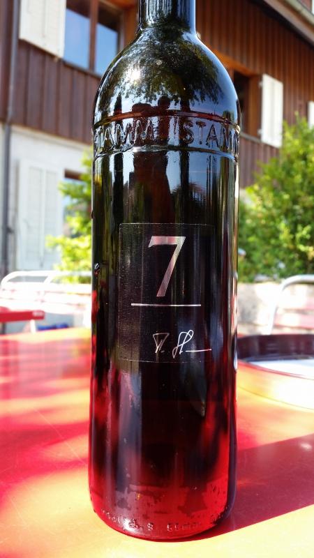 Číslované lahve vinařství Weintstamm (2)