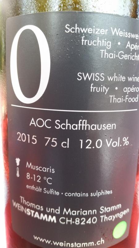 Číslované lahve vinařství Weintstamm