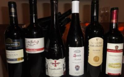 Vína ze supermarketu: Frankovka z Kauflandu