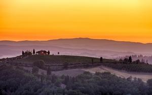 Degustace toskánských vín klasifikace DOCG