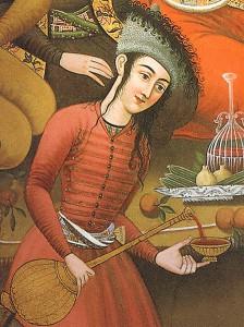 Víno v Persii