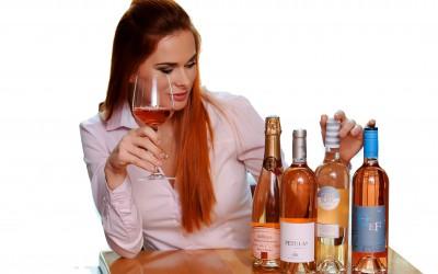 Růžová vína – Grand test II.
