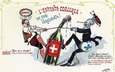 Z historie absintu,první zemí, kde byl zakázán bylo Kongo-už v roce 1898!