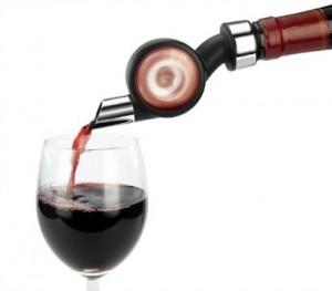 Provzdušňovač vína turbína