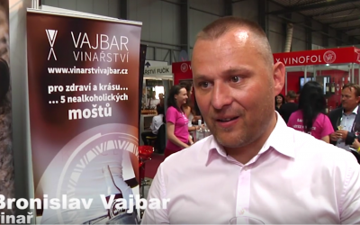 Ozvěny Wine Prague: Tajemstvím Bronislava Vajbara je výroba růžového vína