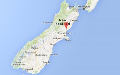 Řez révy, Nový Zéland, jižní ostrov, oblast Waipara, vinařství Terrace Edge