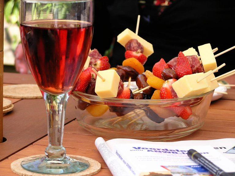Růžové víno, meloun a další párování