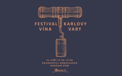 Festival vína Karlovy Vary