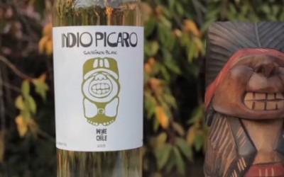 V hlavní roli víno – Chilský Sauvignon blanc s indiánkem Picaro