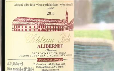 V hlavní roli víno –  Chateau Belá – Alibernet