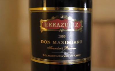 V hlavní roli víno – Viña Errazuriz – Don Maximiano 2010 – vlajková loď vinařství