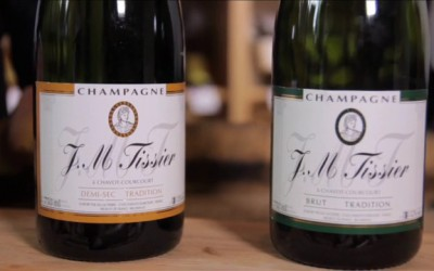 V hlavní roli víno – Champagne J.M.Tissier – Brut, Sec, Demi-sec